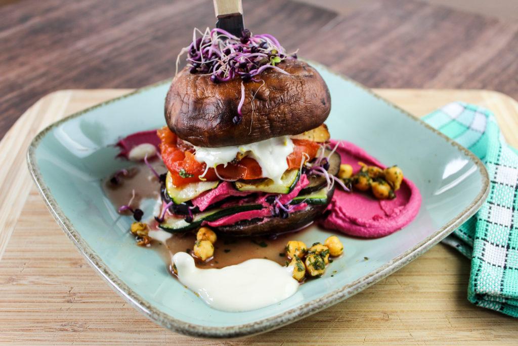 Portobello-Burger Timo Franke